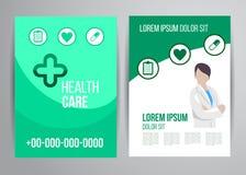 Healthcare brochure Stock Photo