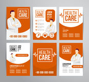 Healthcare brochure Royalty Free Stock Photo