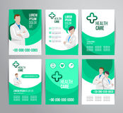 Healthcare brochure Stock Image