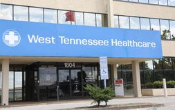 Healthcare Center of West Tennessee Jackson, TN Royalty Free Stock Photo