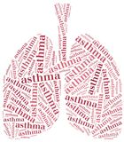 Healthcare concept of respiratory system disease. Stock Photos