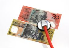 Healthcare cost Royalty Free Stock Photography