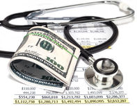 Healthcare cost Stock Photos