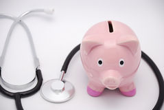 Healthcare costs Royalty Free Stock Images