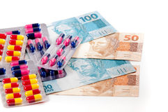 Healthcare costs Royalty Free Stock Photography