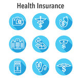Healthcare costs and expenses showing concept of expensive healt Royalty Free Stock Images