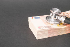 Healthcare costs Royalty Free Stock Photos