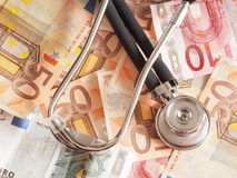 Healthcare costs Stock Image