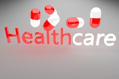 Healthcare 3d render Stock Image