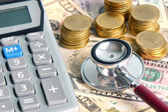 Healthcare and Financial. Stock Images