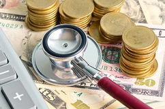 Healthcare and Financial. Royalty Free Stock Photography