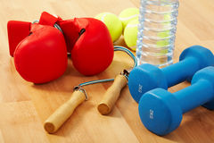 Healthcare and fitness Royalty Free Stock Images