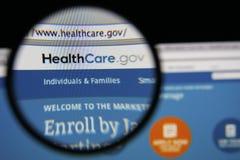 HealthCare.gov Стоковые Фото