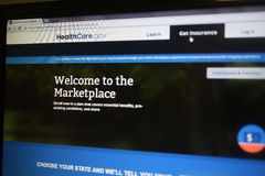 HEALTHCARE.GOV Stock Photos