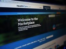 HEALTHCARE.GOV Stock Photos