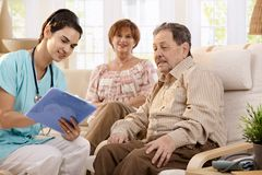 Healthcare at home Stock Photos