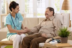 Healthcare at home Royalty Free Stock Image