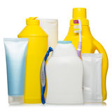 Healthcare, hygiene and cleaning products Royalty Free Stock Photo