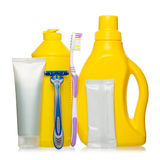 Healthcare, hygiene and cleaning products Stock Photography