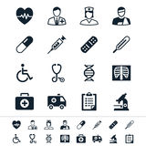 Healthcare icons Royalty Free Stock Photos