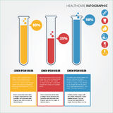 Healthcare Infographic Royalty Free Stock Photos
