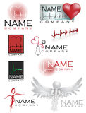 Healthcare logos Stock Images