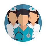 Healthcare medical. Design, vector illustration eps10 graphic Royalty Free Stock Photos
