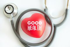 Healthcare medical Good health food Healthy medical equipment on Royalty Free Stock Images