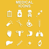 Healthcare and Medical Icon Set Royalty Free Stock Photo