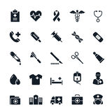 Healthcare and Medical icons Stock Image