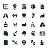 Healthcare and Medical icons Royalty Free Stock Photos