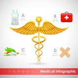 Healthcare and Medical Infographics Royalty Free Stock Photos