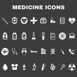 Healthcare Medical Vector Icons Set Royalty Free Stock Images