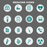Healthcare Medical Vector Icons Set. Healthcare. Colorful Medical Vector Icons Set. Digital background vector illustration Stock Images