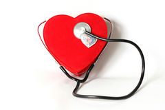 Healthcare and Medicine. Our hearts one, let us protect the health Royalty Free Stock Images