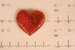 Healthcare and Medicine. Analysis of heart health and medical tests Stock Photos