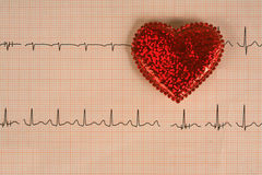 Healthcare and Medicine. Analysis of heart health and medical tests Stock Images