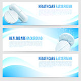 Healthcare and Medicine Banners Stock Photos