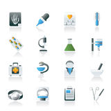 Healthcare and Medicine icons Stock Photography