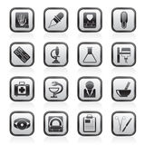 Healthcare and Medicine icons Stock Image