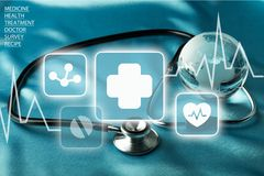 Healthcare And Medicine Royalty Free Stock Images