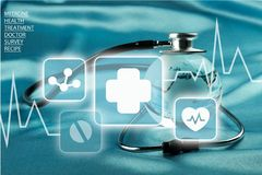 Healthcare And Medicine Stock Photography