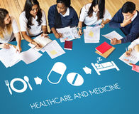Healthcare Medicine Medication Medical Health Concept Stock Images