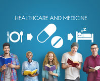Healthcare Medicine Medication Medical Health Concept royalty free stock images