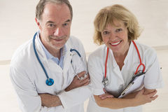 Healthcare and medicine people Stock Photography