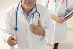 Healthcare and medicine people Stock Image