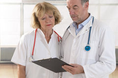 Healthcare and medicine people Royalty Free Stock Image