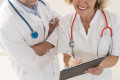 Healthcare and medicine people Stock Photos