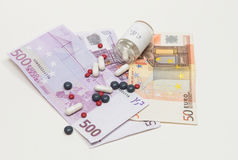 Healthcare and money Stock Images