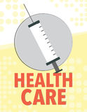 Healthcare newsletter Royalty Free Stock Image